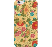 Abstract Colorful Floral Collage iPhone Case/Skin