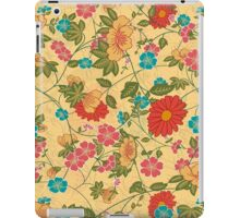 Abstract Colorful Floral Collage iPad Case/Skin