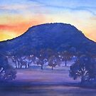 Sunset on Buninyong by Mrswillow