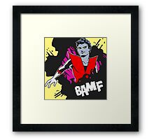 BAMF - Nightcrawler Framed Print
