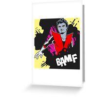 BAMF - Nightcrawler Greeting Card