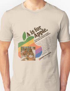 'A is for Apple advert' T-shirt etc.... T-Shirt