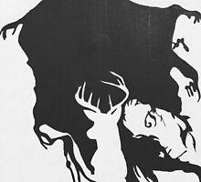 Dementor & patronus  by redlipsivania