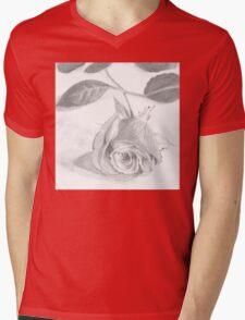 Rose of Love  Mens V-Neck T-Shirt