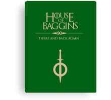 House of Baggins Canvas Print