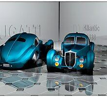 Bugatti Atlantic 1938 by andreisky