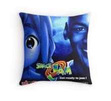 Space Jamugi Throw Pillow