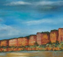 Chilojo Cliffs - Gonarezhou - Zimbabwe (my version!) by Gigi Guimbeau