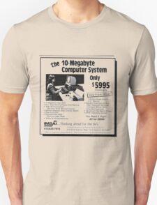 'The 10 Mega-byte Computer advert' T-shirt etc.... T-Shirt
