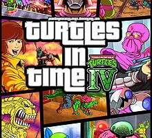 Turtles In Time GTA Parody by Powder