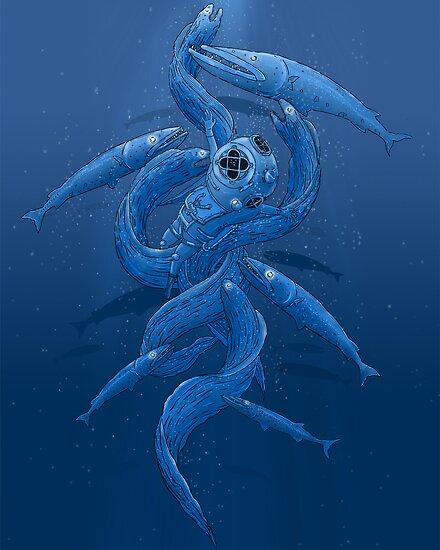 Deep Blue by gabrielng