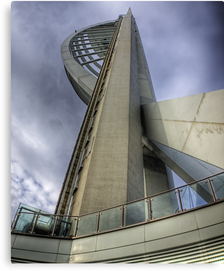 Spinnaker Tower Portsmouth - Wide Angle by NeilAlderney
