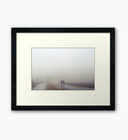 Forlatt øyeblikk #11 Framed Print