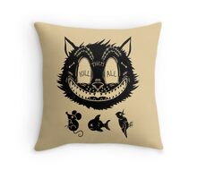 Kill Them All Throw Pillow