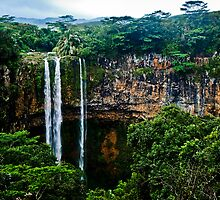 The Chamarel waterfall by Rémi Bridot
