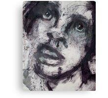Face, Bernard Lacoque-44 Canvas Print