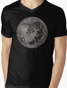 Mare in the Moon Mens V-Neck T-Shirt