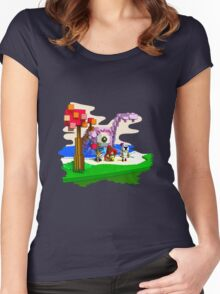The reaver Women's Fitted Scoop T-Shirt