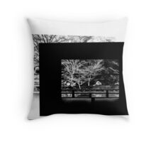 Alone in Kyoto Throw Pillow