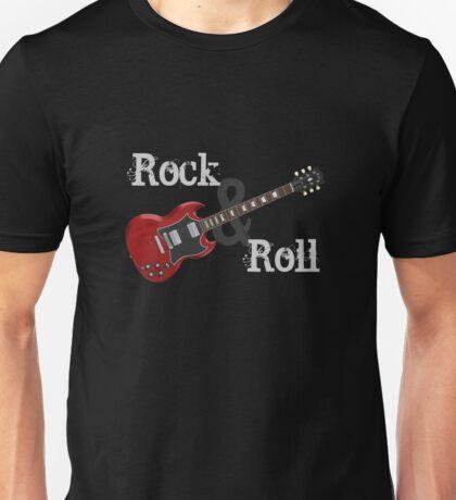 Rock & Roll Guitar Unisex T-Shirt