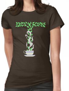 Tea T Womens Fitted T-Shirt