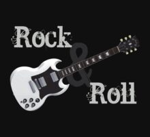 Rock & Roll Guitar by bradyarnold
