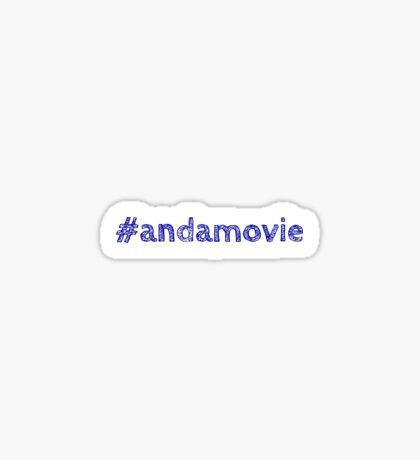 #andamovie Sticker