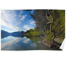 Lake Wakatipu  01 New Zealand Poster