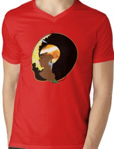 GOLD Mens V-Neck T-Shirt