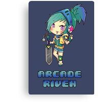 Arcade Riven Canvas Print