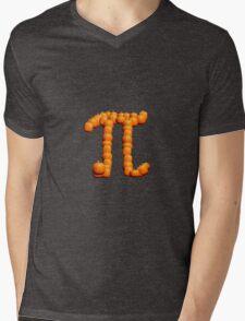 Pumpkin Pi T-Shirt Mens V-Neck T-Shirt