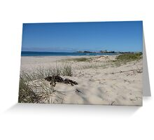 Coolangatta from North Kirra Beach Greeting Card