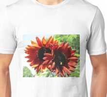 2 sunflowers 1 stem in Mo's Garden Unisex T-Shirt