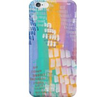 Peacock Willow - Textured Abstraction iPhone Case/Skin