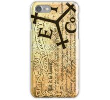 EAST INDIA LETTER OF MARQUE iPhone Case/Skin