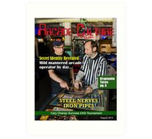 Arcade Culture - Cary Chaney Art Print