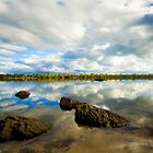 River & Rocks by ImagesbyDi