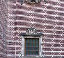 Detail of Rijksmuseum, Amsterdam by Ian Ker