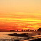 Autumn Sunset by Ree  Reid