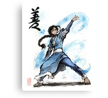 Katara from Avatar TV series Canvas Print