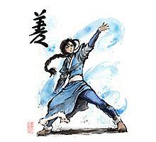 Katara from Avatar TV series Photographic Print