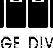 Stage Dive Sticker