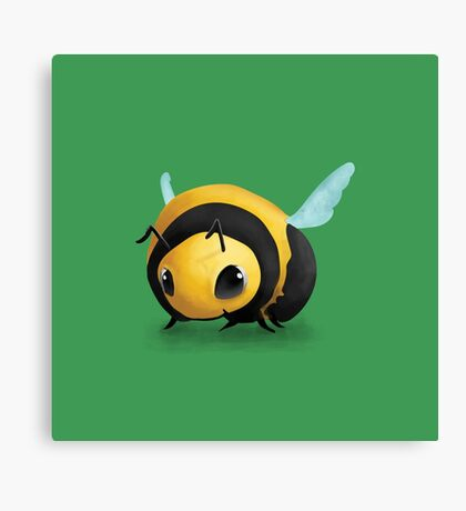 Little Bee Canvas Print