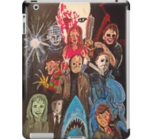 70s/80s Horror iPad Case/Skin