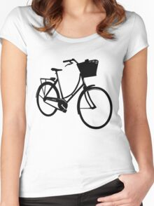 Classic style bike Women's Fitted Scoop T-Shirt