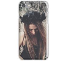 Black Rose iPhone Case/Skin