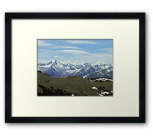 Above the Tree Line 2, RMN Park Colorado Framed Print