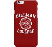 A DIFFERENT WORLD HILLMAN COLLEGE iPhone Case/Skin