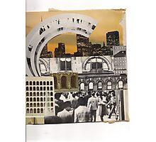 the urban peoples rainbow' Photographic Print