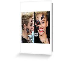 Miley Cyborg Greeting Card